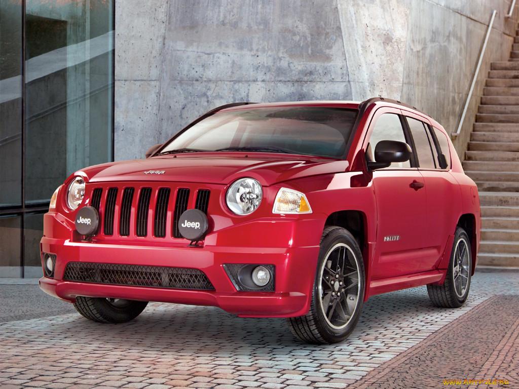Jeep Compass сделали похожим на ралл…